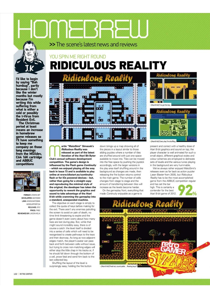 Ridiculous Reality & Retrogamer