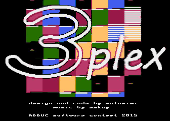 3plex coding timelapse – Abbuc SW Contest 2015