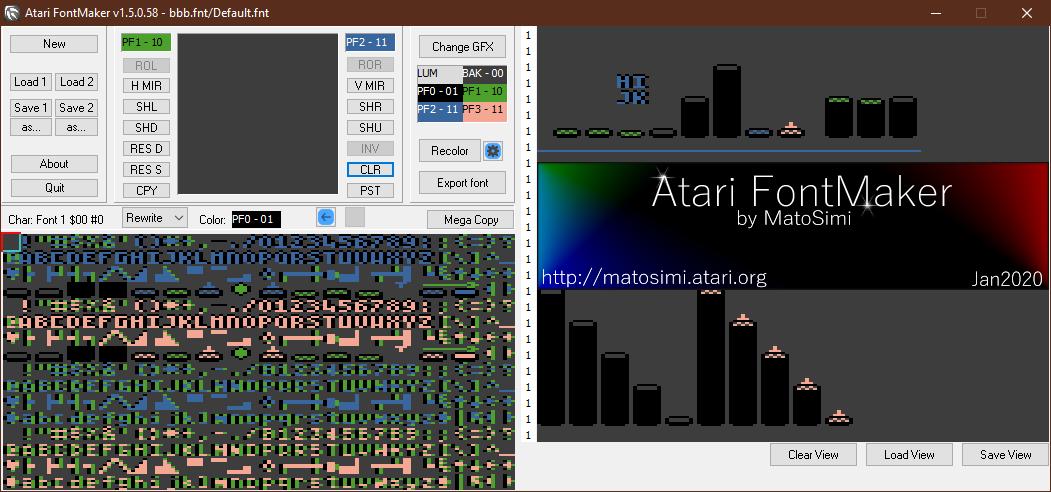 Atari FontMaker 1.5